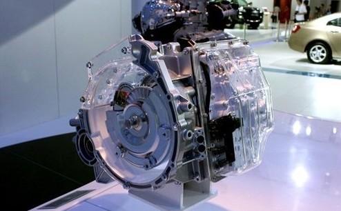 吉利展出的6AT变速器