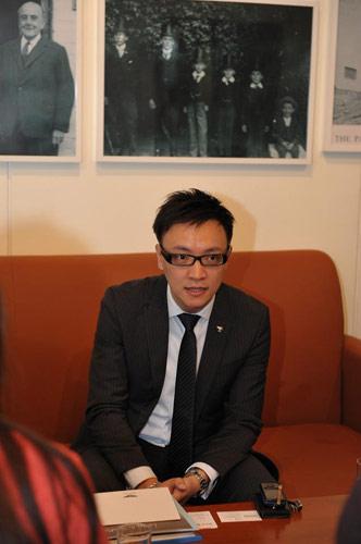 宾利中国产品经理刘景文先生