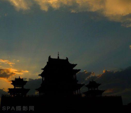 寿阳朝阳阁文化图腾