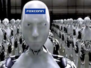 富士康2012目标 不裁员 用机器人 杜绝自杀