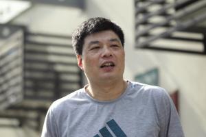 追击对象:俞觉敏 追击地点:浙江省全民健身中心排球馆