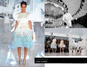 2012春夏巴黎时装周 路易威登LV2012春夏女装流行趋势