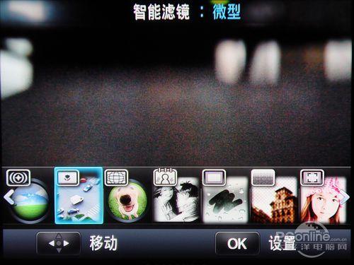 三星NX200智能滤镜菜单