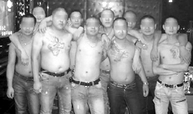 香港黑社会电影大全 黑社会打架砍刀图片 黑社会图片大全