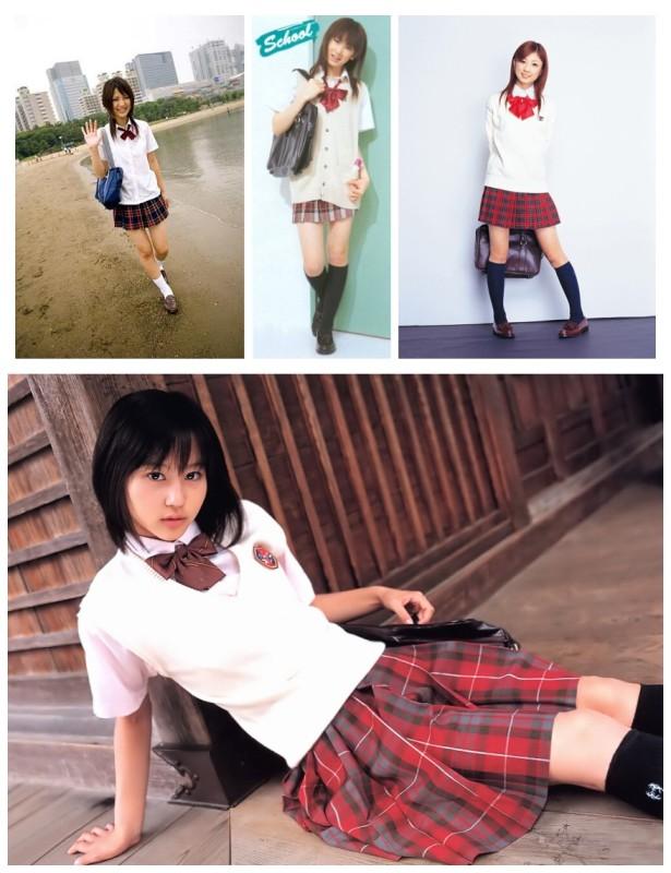 日本短裙文化 风靡整个日本街头的中学生校服诱惑