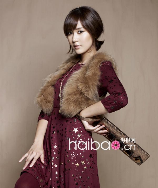 韩国女明星齐上阵示范Office Lady冬季穿衣术: