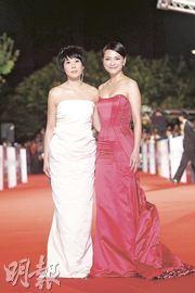 刘若英(左)与李心洁被形容为娱乐圈的犀利人妻