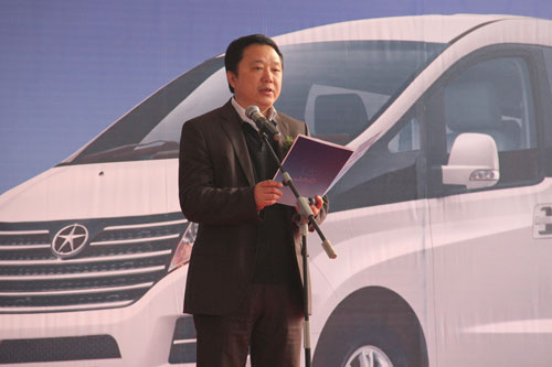 车辆采购由专家评委进行了严格的评审和打分,   江淮瑞风   高清图片