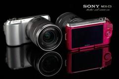 索尼NEX-C3拥有三种颜色