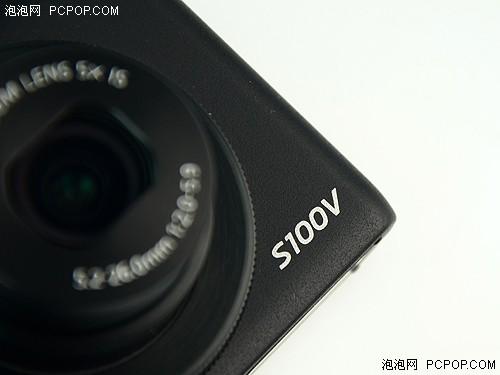 右下角S100V型号标识