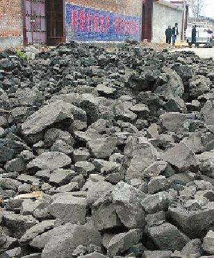 """山西""""爱心煤""""一半是石头(图)"""
