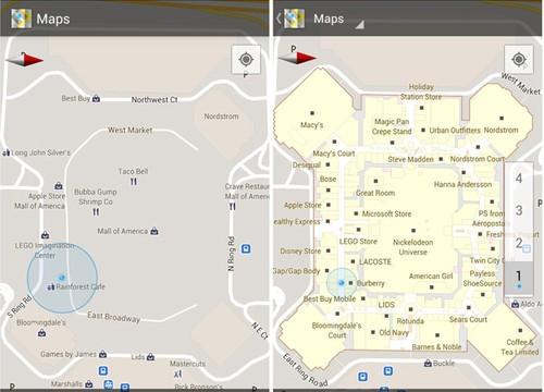 谷歌地图6.0版发布 增加室内地图支持