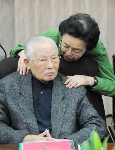 国家体育总局武术研究院首任院长徐才在会上。