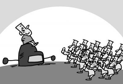 漫画:唐春成
