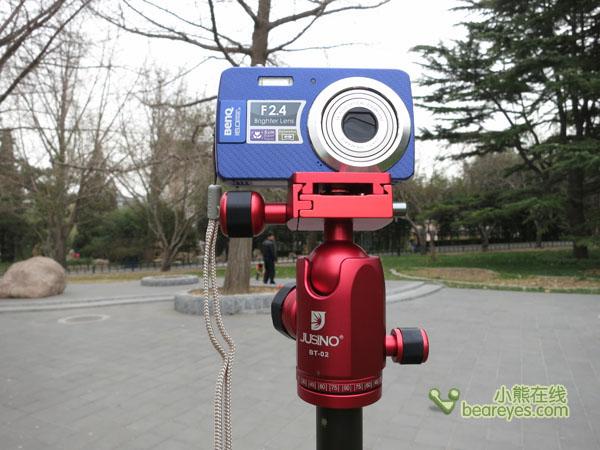 美眉学摄影小帮手 佳鑫悦E-255C评测