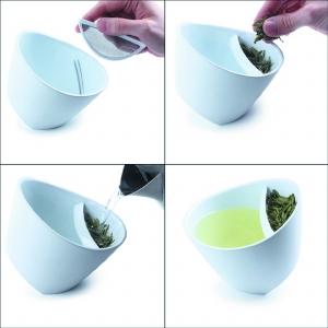 巧妙的泡茶杯子