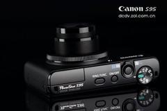 高性能广角便携相机 佳能S95降至2630元