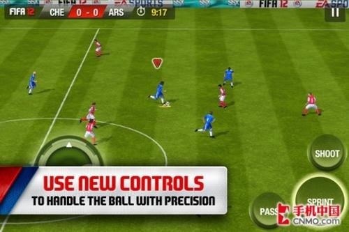 最佳足球游戏 FIFA12发布Android版本