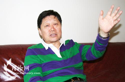 海尔集团首席执行官张瑞敏 程冠军摄