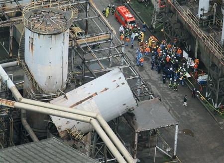 中新网12月2日电据日本新闻网报道,日本最大的钢铁公司之一JFE工厂今(2)日上午发生一起爆炸事件,造成4人受伤。
