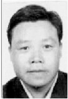 警方提供的网上逃犯胡泽军照片。