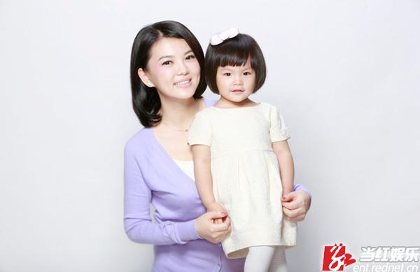 李湘女儿王诗龄可爱写真 百万接首个代言(图)