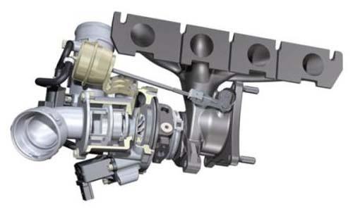 图2 涡轮增压装置