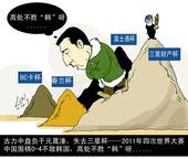 漫画:2011中韩决赛0-4 围棋再遇高处不胜