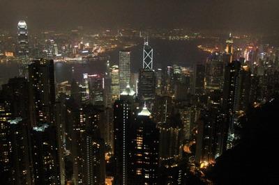 """之滨的""""东方之珠""""香港"""