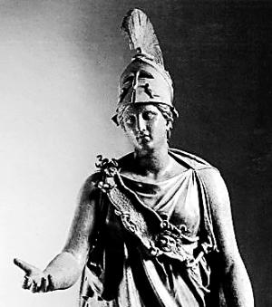 雅典娜神像
