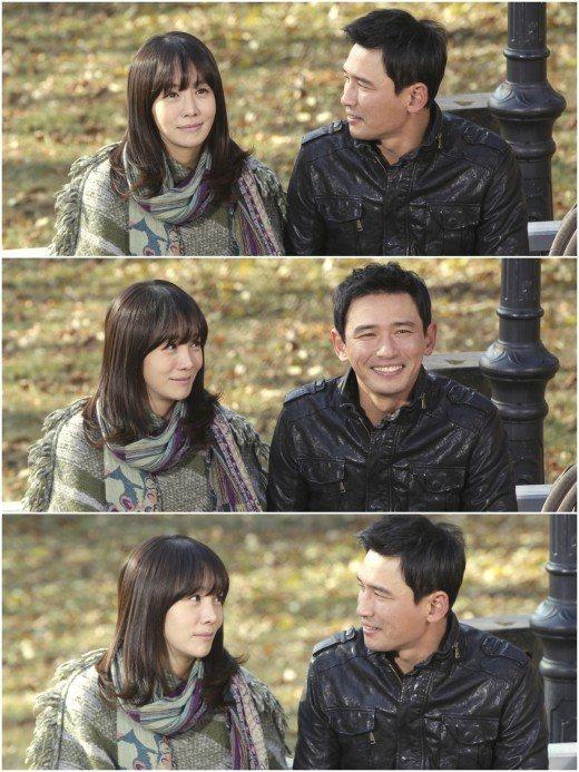 这次公布的 韩半岛 剧照是金廷恩与黄正民约会的场景