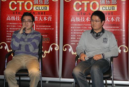 QA环节,两位嘉宾面对面解答参会者的疑问