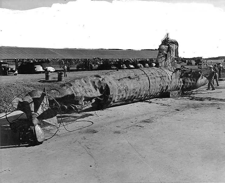 偷袭珍珠港中的日军袖珍潜艇