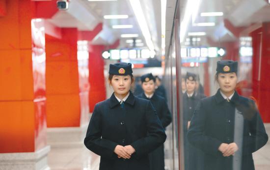 李浩摄图为北陵公园站
