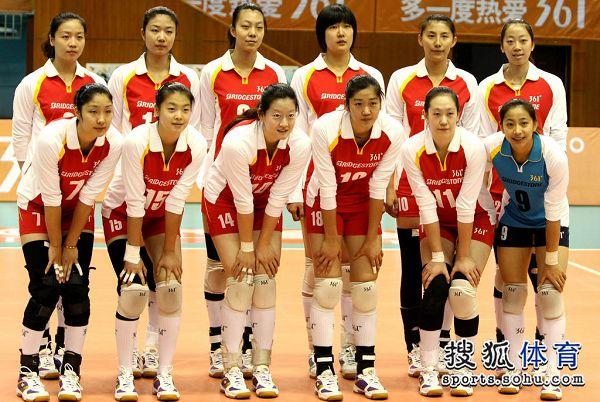 图:北京女排v天津女排