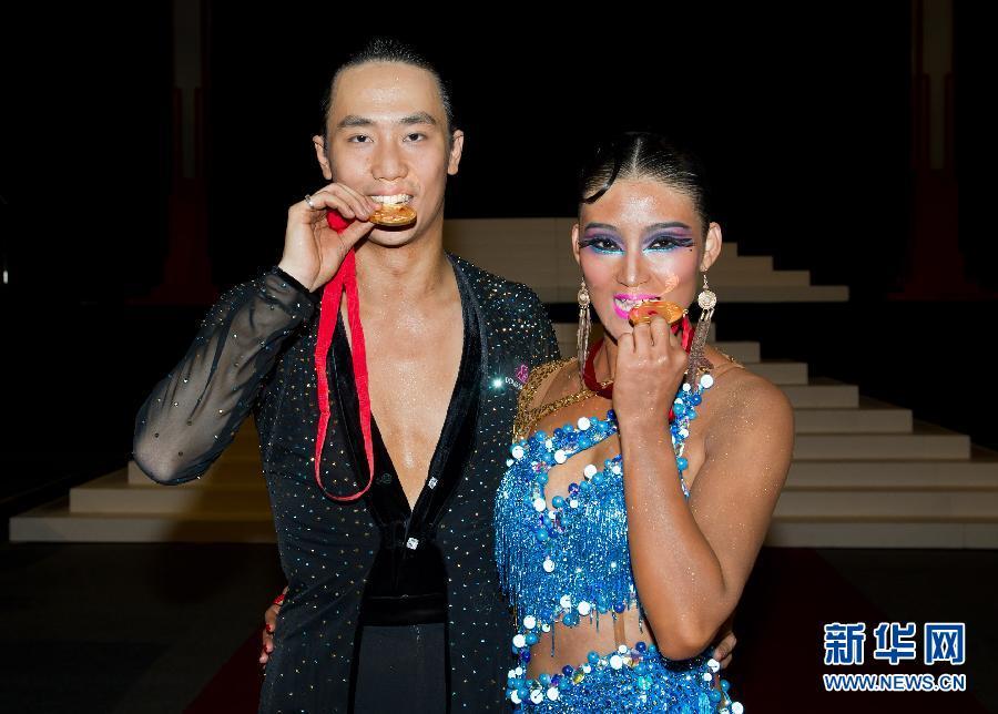 海信手机qq_中国选手赢得亚太拉丁舞公开赛[组图]-搜狐滚动