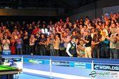 图文:特鲁姆普10-8艾伦夺冠 现场观众无比热情