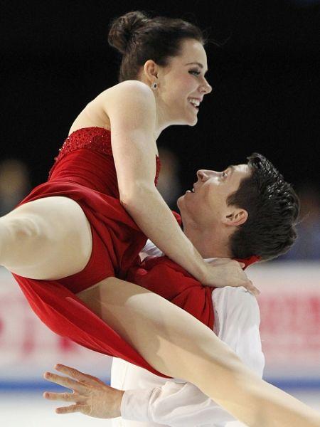 图文:总决赛冰舞自由舞 瓦尔图莫伊尔比赛中