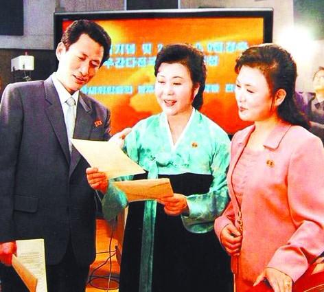 朝鲜著名女主播李春姬