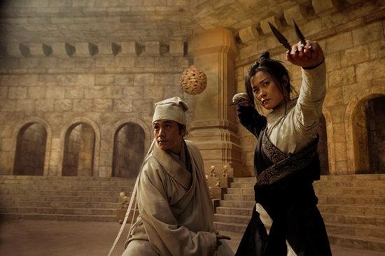 """其中,第二次出演電影的""""銀幕新人""""李宇春以在塑造角色個性,情感,功夫圖片"""