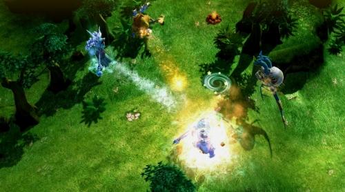 (图2:《Chaos online》游戏截图2)