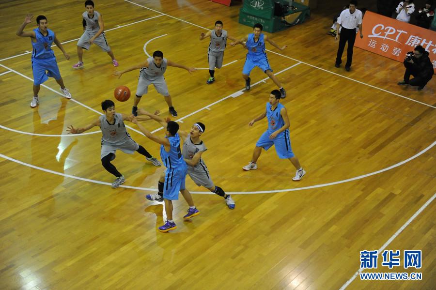 全国高中男子篮球联赛 密云二中夺冠(组图)