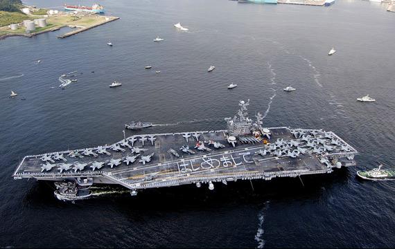 美國防部︰中國2013年崩潰 美派最龐大艦隊包圍(圖)