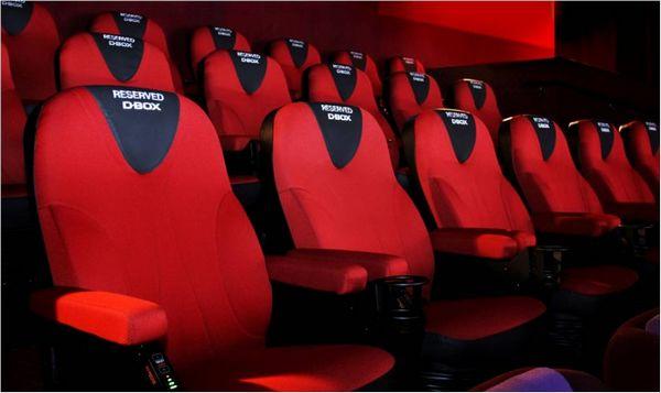 配备独特技术的Motion Chair D-Box为每部电影度身订造D-Box摇动编码, 与屏幕画面逼真地同步摇动,让观众感受如同置身当中呈献非凡的影院体验
