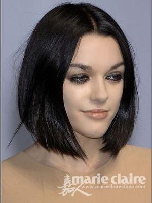 脸部缺少立体感 10发型弥补五官不足(组图)图片