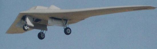 资料图:美国研制的RQ-170隐形无人侦察机