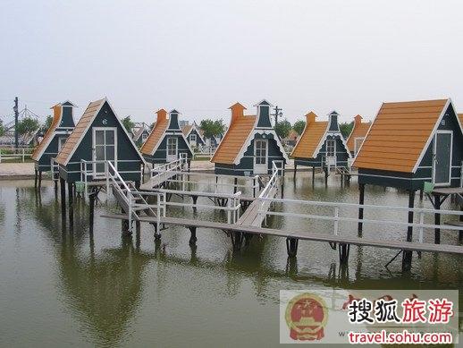 月坨岛木屋