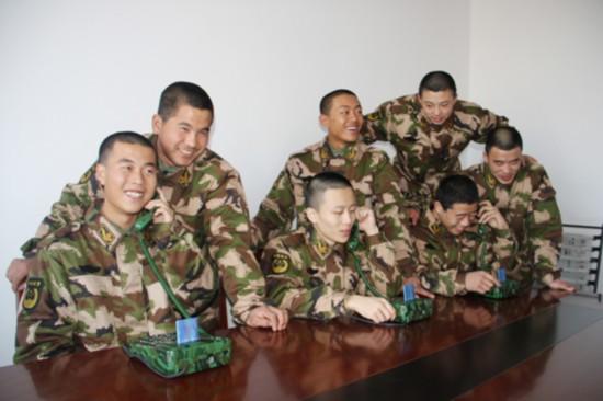 有到家的感觉 武警8620部队新兵入营见闻图片