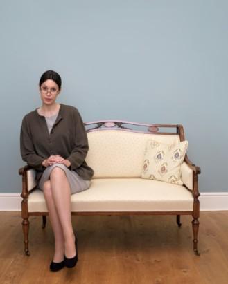 """男人语录:""""女生的坐姿很重要,这样的坐姿最优雅,所以最性感.""""图片"""