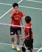 图文:[羽毛球]羽联总决赛 于洋王晓理庆祝获胜
